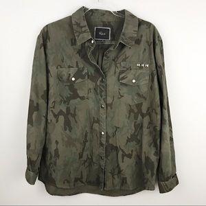 Rails • Erin Camo Jacket Shirt